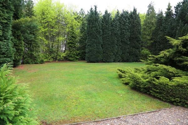 The garden is huge!
